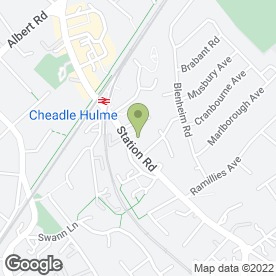 Map of Whichmedia Ltd in Cheadle, cheshire