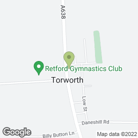 Map of CPC Fencing Services Ltd in Torworth, Retford, nottinghamshire