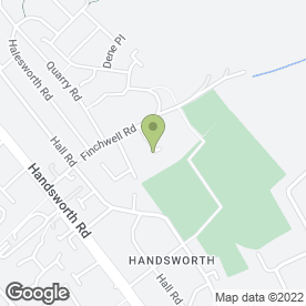 Map of Handsworth Fencing Services in Handsworth, Sheffield, south yorkshire