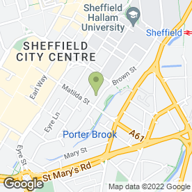 Map of Arundel Joinery Limited in Sheffield, south yorkshire
