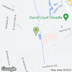 Map of De Vere Venues Cheadle House in Cheadle, cheshire