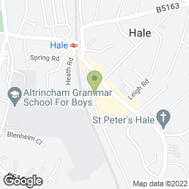 Map of FACIAL BOUTIQUE in Hale, Altrincham, cheshire