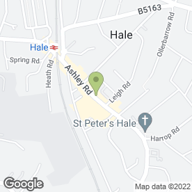Map of NatWest Bank plc in Hale, Altrincham, cheshire