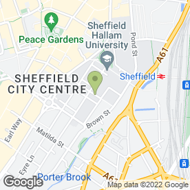 Map of Why Not events in Sheffield, south yorkshire