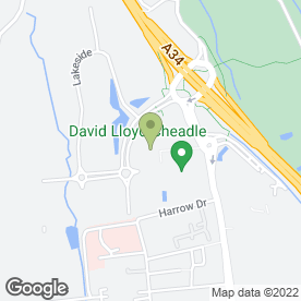 Map of PREMIER INN in Cheadle, cheshire