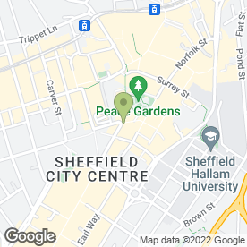 Map of The Street Food Chef in SHEFFIELD, south yorkshire