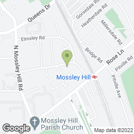 Map of Broadoak Nursery in Liverpool, merseyside