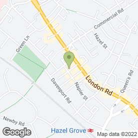 Map of Beda Bathrooms in Hazel Grove, Stockport, cheshire