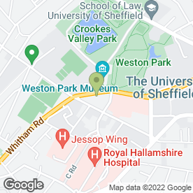 Map of Peak Aerials & Satellite Systems in Sheffield, south yorkshire
