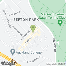 Map of Phoenix Fireplaces & Furniture in Sefton Park, Liverpool, merseyside