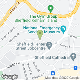 Map of Velocity Student Village in Sheffield, south yorkshire