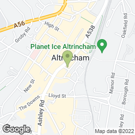 Map of Regional Property Solutions Ltd in Altrincham, cheshire