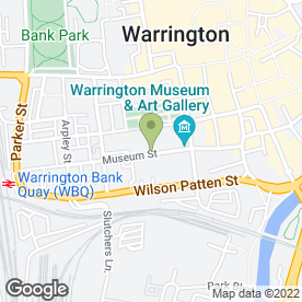 Map of Dragonfly Photography Ltd in Warrington, cheshire