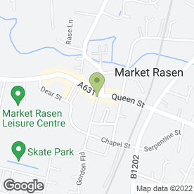 Map of Walter's in Market Rasen, lincolnshire