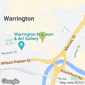 Map of Reef Bar in Warrington, cheshire
