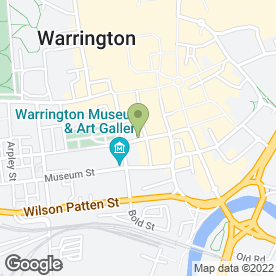 Map of Divinity Holistics & Beauty in Warrington, cheshire