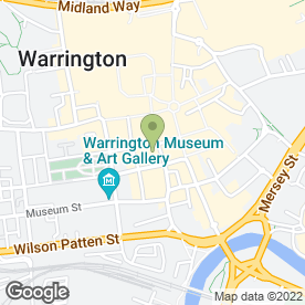 Map of The Cottonmill Bar & Kitchen in Warrington, cheshire