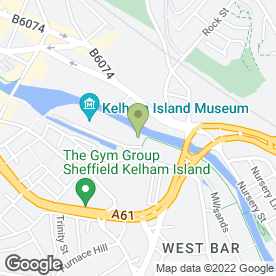 Map of Party Pix - Event & Wedding Photography in Sheffield, south yorkshire