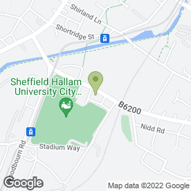 Map of Cloud Electronics Ltd in Sheffield, south yorkshire