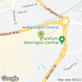 Map of Superdrug Stores plc in Warrington, cheshire