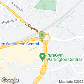 Map of Enterprise Rent-A-Car in Warrington, cheshire