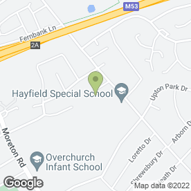 Map of Arrowe Farm Tree Care in Wirral, merseyside