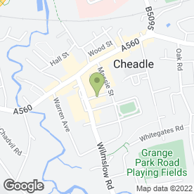Map of A Touch of Class in Cheadle, cheshire