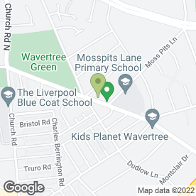 Map of Plant Design (N.W) Ltd in Liverpool, merseyside