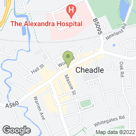 Map of Nice Ice in Cheadle, cheshire