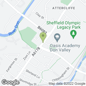 Map of Charlie's Angels FM Ltd in Sheffield, south yorkshire