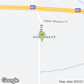 Map of A1 Cats Country Hotel in Whiston, Rotherham, south yorkshire