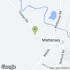 Map of MATTERSEY PRE-SCHOOL in Mattersey, Doncaster, south yorkshire