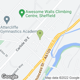 Map of Evolution Print Ltd in Sheffield, south yorkshire