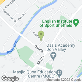 Map of Russell Richardson & Sons Ltd in Sheffield, south yorkshire