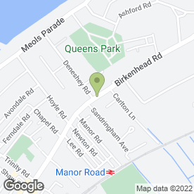 Map of Rob McNulty Veterinary Surgery Ltd in Hoylake, merseyside