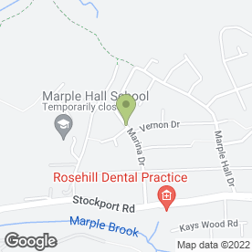 Map of Anita's Mobile Hairdressing in Marple, Stockport, cheshire