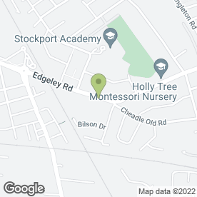 Map of G.M Joinery in Stockport, cheshire