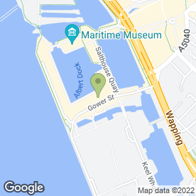 Map of STONE SECURITY SERVICES in Liverpool, merseyside