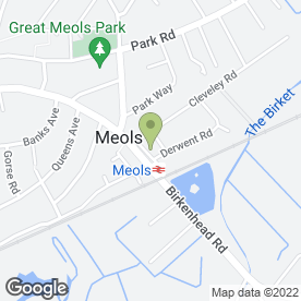 Map of Simply Drinks in Meols, Wirral, merseyside
