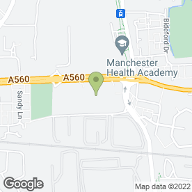 Map of Tesco Extra in Manchester, lancashire