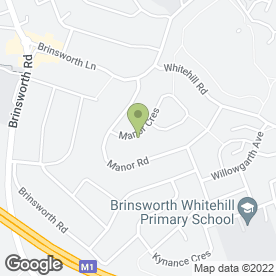 Map of S J Electrical in Brinsworth, Rotherham, south yorkshire