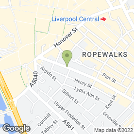 Map of Add Signs in Liverpool, merseyside