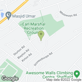 Map of Move Right Removals in Sheffield, south yorkshire