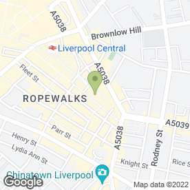 Map of Melanie Cornes Semi-Permanent Make-Up Artist in Liverpool, merseyside