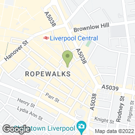 Map of Lost Art in Liverpool, merseyside