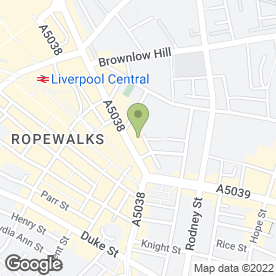 Map of Master Chef in Liverpool, merseyside