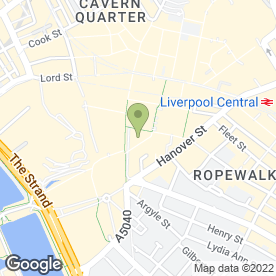 Map of Carphone Warehouse in Liverpool, merseyside
