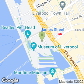 Map of Proguard Security Services (UK) Ltd in Liverpool, merseyside