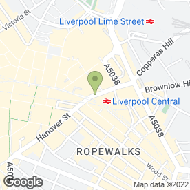 Map of Ecosway in LIVERPOOL, merseyside