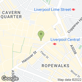Map of Currys.digital in Liverpool, merseyside